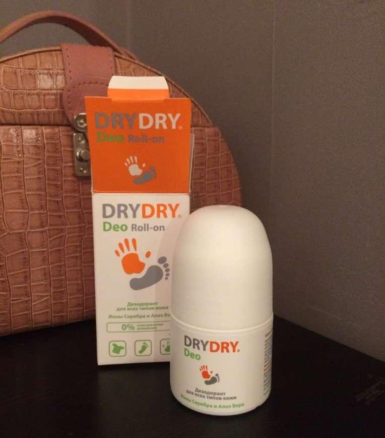 Тестируем дезодорант от Dry Dry