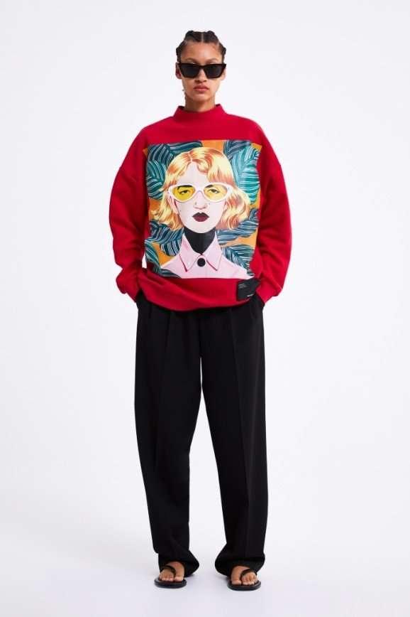 Рисуя моду: современные художницы вдохновили на создание необычной коллекции одежды