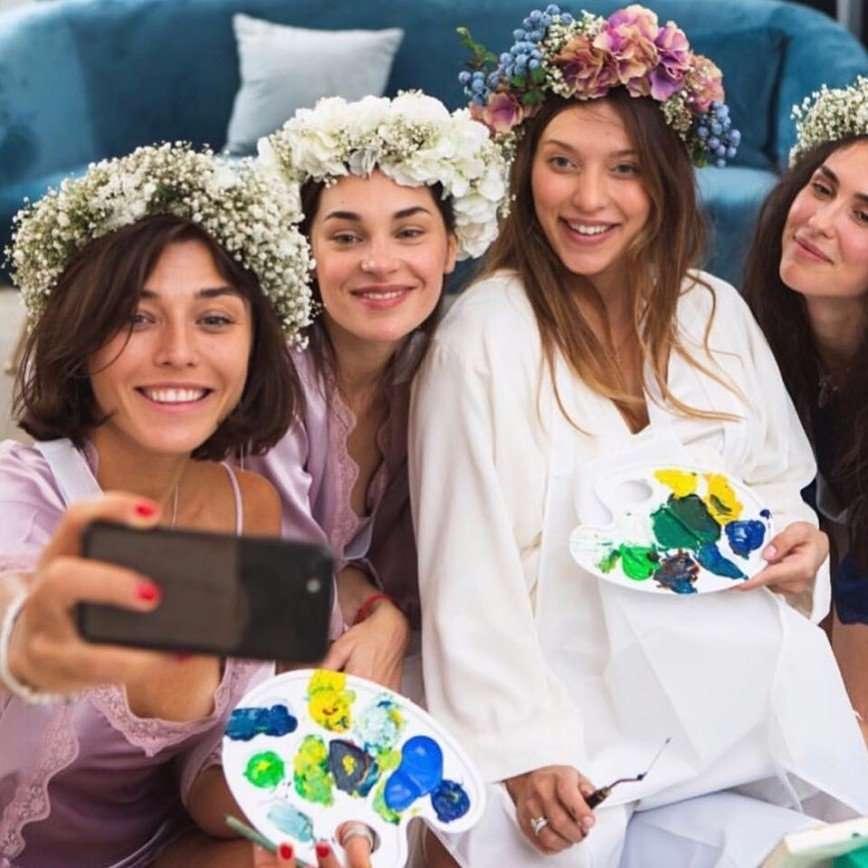 Регина Тодоренко устроила грандиозную вечеринку по случаю скорого рождения ребенка