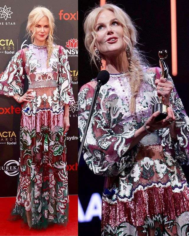 Николь Кидман получила награду за лучшую роль второго плана