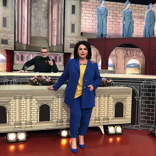 Надежда Бабкина показала кадры со съемок нового сезона «Модного приговора»